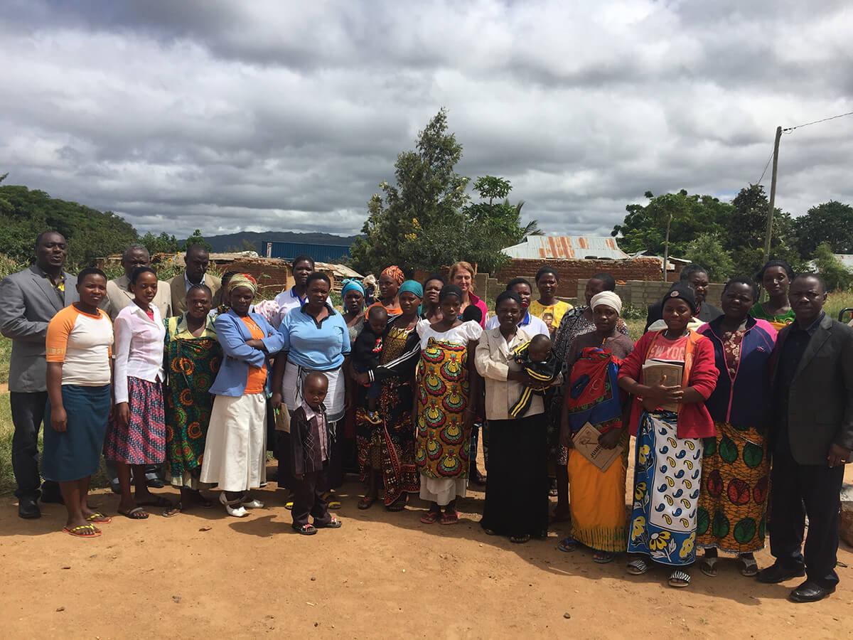 Tanzania-Women Group meeting participants