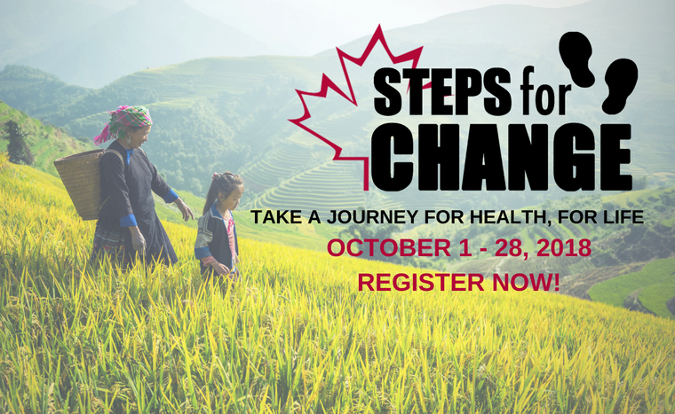 Registration for Steps for Change is open!